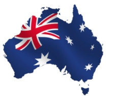Transport robe Australija