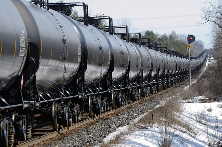 Transport nafte i gasa železnicom