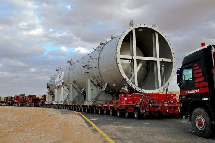 Transport opreme za gasnu i hemijsku industriju