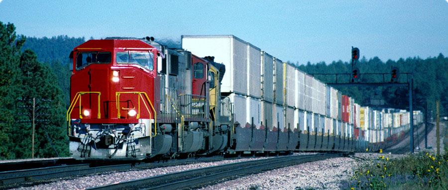železnički transport iz kine