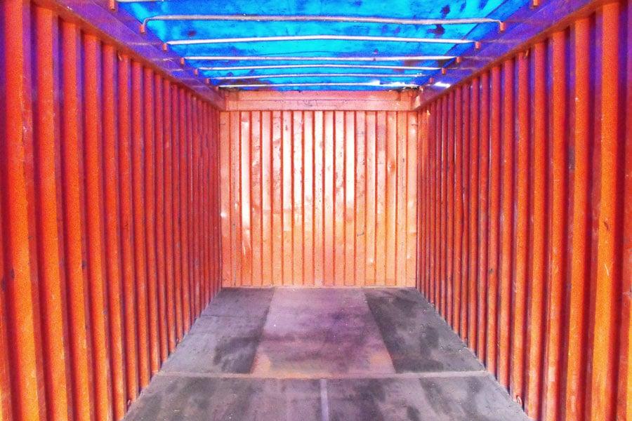 Open top kontejner 20ft