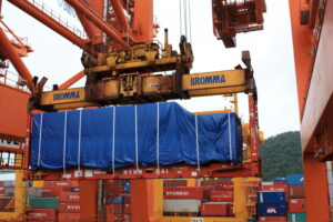 flat rack 20ft beocontrol logistics